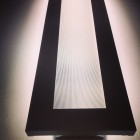 photo of a light fixture