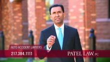 Patel Law Auto Accident TV Spot